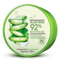Moisture Aloe Vera Gel Facial Aloe Gel 92% Gel 7.76 Fl.Oz Blackhead Removal Deep Cleansing Acne Treatment Oil Control Soothing and Moisture Skin