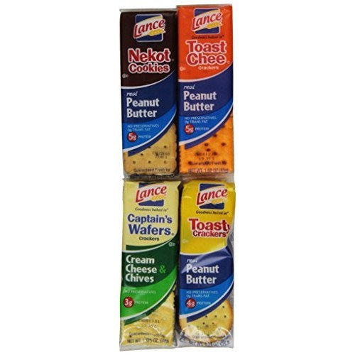 Lance Sandwich Crackers, Variety Pack, 36 Count [Variety Pack]