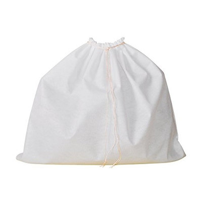 Dust Bag for Leather Handbags, Shoes, Belts, Gloves, Accessories, Range of 10 Sizes, Drawstring Bags, Protective Storage Bags (XXSmall: L 16 x H 22 cm (6.3
