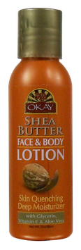 OKAY Shea Butter Face & Body Lotion 59 ml - 2 oz