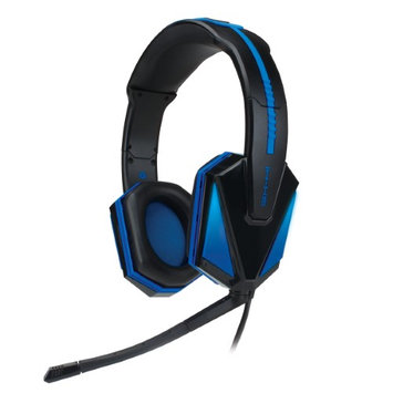 Accessory Power Engxh10100bkus Gaming Headset - Surround - Black, Blue - USB - Wired - 16 Hz - 20 Khz - Over-the-head - Binaural - Circumaural (engxh10100bkus)