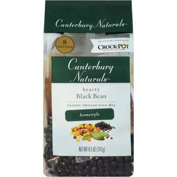 Conifer Specialties, Inc Canterbury Naturals Homestyle Hearty Black Bean Classic Artisan Soup Mix, 8.5 oz