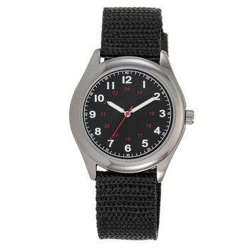 Men's Woven Strap Watch