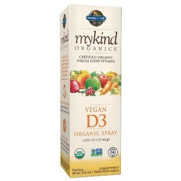 Garden of Life My Kind Organic Vitamin D3 Spray - Vanilla - 2 fl oz