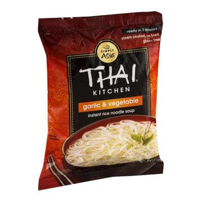 Thai Kitchen Garlic & Vegetable Instant Rice Noodle Soup, 1.6 OZ (Pack of 6)