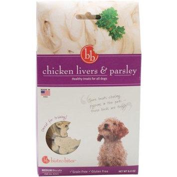 Fetch For Pets Bistro Bites Medium Biscuits-Chicken Livers & Parsley