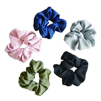 Hair Scrunchies Elastic Hair Bands Ponytail Hair Ties Holder Hair Accessories For Girs, Women