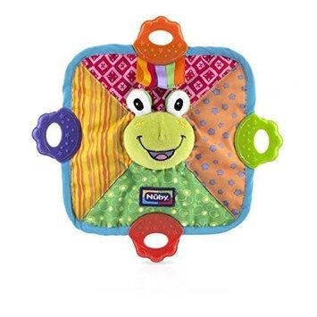 Nuby Teething Blankie, Frog