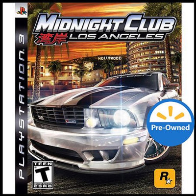Take 2 Midnight Club-Los Angeles (PS3) - Pre-Owned