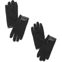 Wells Lamont Synthetic Leather High Dexterity Work Gloves with Touch Screen Technology, Black, 2-Pack