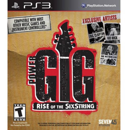 Cokem Power Gig: Rise Of The Six String Game Only (PS3) - Pre-Owned