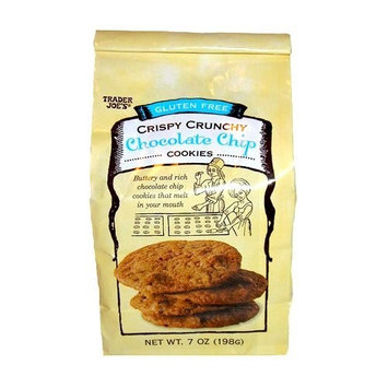 Trader Joe's Gluten Free Crispy Crunchy Chocolate Chip Cookies, 2 Packs