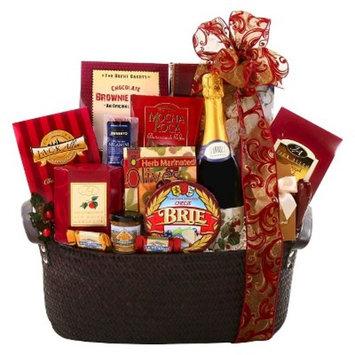 Alder Creek Gifts Holiday Classics Gift Basket - 7lbs