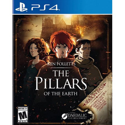Kalypso Media Pillars Of The Earth Playstation 4 [PS4]