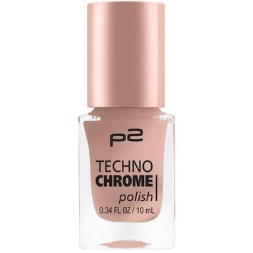 P2 Techno Chrome Nail Polish Bronze Cut