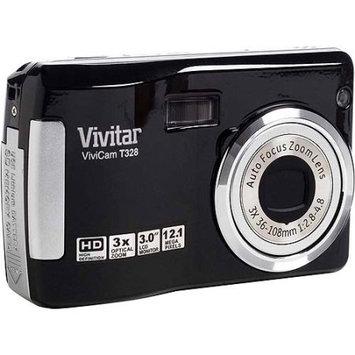 Vivitar Vt328-bk 12.1mp Digital Camera With 3x Optical Zoom - Black