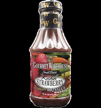 Gourmet Warehouse KICKIN STRAWBERRY BBQ SAUCE