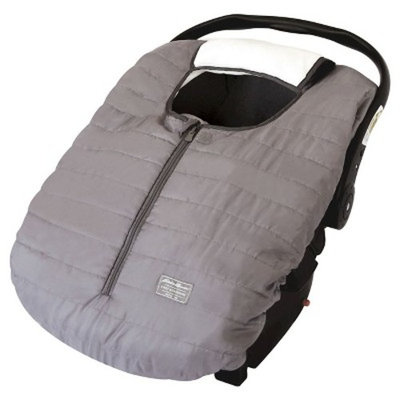 Warm & Cozy Eddie Bauer Weather resistant Reversible Carrier Car Seat Cover Gray