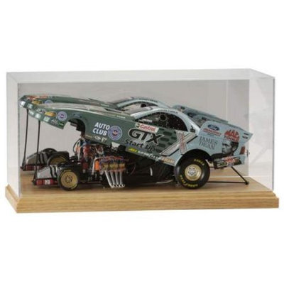 Gagne D00-0016FCW 1-16 Scale Funny Car Case with Wood Base
