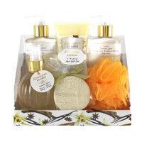 Swissco Kensington Studio 7-Piece Spa Gift Set, Vanilla Spice