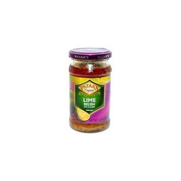 Patak's Original Lime Relish - Spicy & Chunky (Medium) - 10oz
