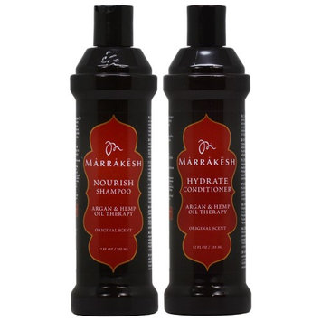 Marrakesh Shampoo + Conditioner 12oz 'Duo' (Pack of 2)