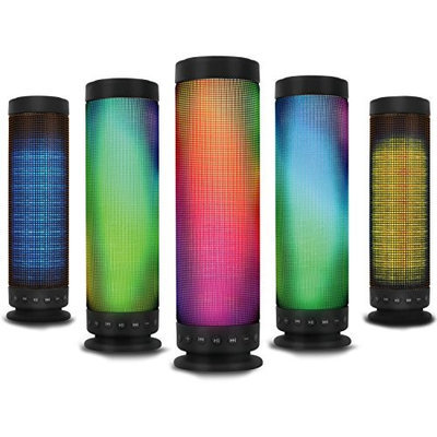 Kocaso Rainbow LED Portable Wireless Bluetooth Speaker Dancing Water Speaker Free Shipping for iPhone iPad