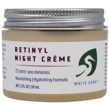 White Egret Retinyl Night Creme -- 2 fl oz