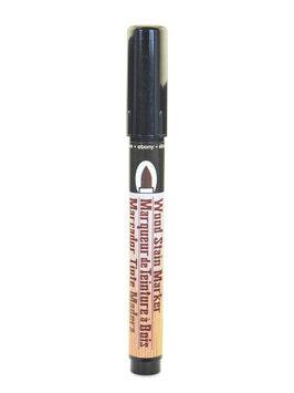 Marvy Uchida Wood Stain Markers brush tip, ebony [pack of 6]