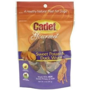IMS 07206 Cadet Sweet Potato and Duck Wraps Dog Treat - 3 oz.
