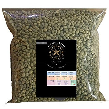 5 lb Caturra AA Washed Process Unroasted Green Coffee Beans, Specialty Grade From Colombia Estates, (Caturra AA Washed - Buenos Aires AA, 5 lb)