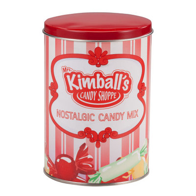Mrs. Kimball's Candy Shoppe Nostalgic Candy Mix Keepsake Tin