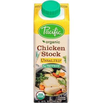 Pacific Foods Organic Chicken Culinary Stock, Unsalted, 8-Ounces