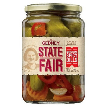Gedney® State Fair® Norwegian Spicy Dill Pickles - 24oz