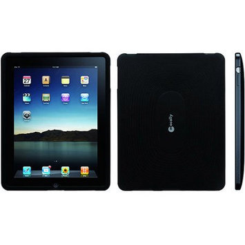 Mace Group - Macally Macally MSUITPAD Silicon Protective Case for iPad - Black