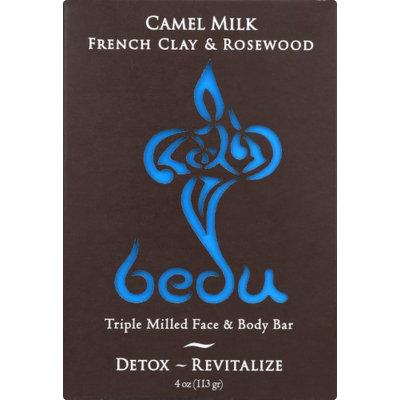Bedu ECV1844448 6 x 4 oz Naturals Camel Milk Bar Soap for French Clay & Rosewood