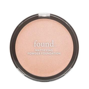 FOUND Mattifying Powder Foundation with Rosemary, 120 Fair,0.28 fl oz