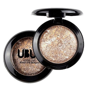 Single Baked Eyeshadow Cosmetic Makeup ,Sefter Long Lasting Shimmering Monochrome Eye Shadow Powder Palette Matt for Professional Makeup or Daily Use