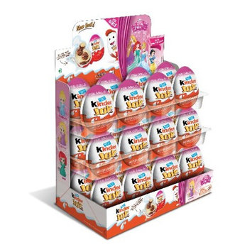 Chocolate Kinder Joy with Surprise Inside (24-Pack (Girls))