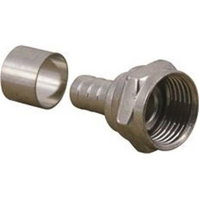 Coaxial F Connector 10Pk 852078 National Brand Alternative Misc. Wire 852078