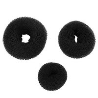 3PCS Hair Accessories,Donuts Dish Hair Headwear Disk Donut Bun Maker Hair Bun Maker Ring Style Hairdressing Tools