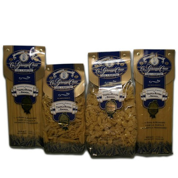 Cav. Giuseppe Cocco Pasta Combo 4-pack (Fettuccine/Radiatori/Penne/Spaghetti)