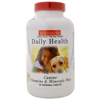 RESOURCES Canine Daily Health [Options : 90 Tablets]