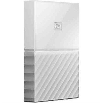 Western Dig Tech. Inc Wd - My Passport 4TB External USB 3.0 Portable Hard Drive - White