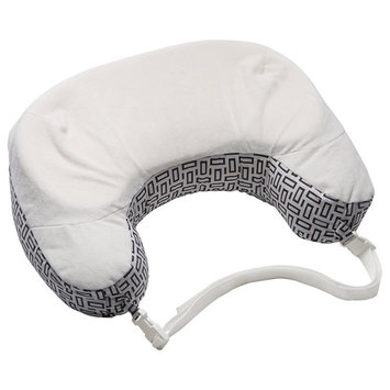 Boppy Best Latch Breastfeeding Pillow, Modern Mosaic, Two-Sided Nursing Pillow