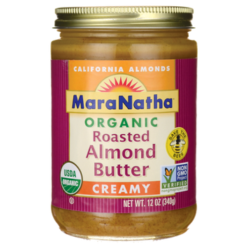 Maranatha Organic Almond Butter, Creamy, 12 Oz