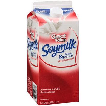 Great Value Soymilk, 0.5 gal