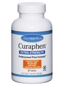 Euromedica Curaphen Extra Strength 60 tabs