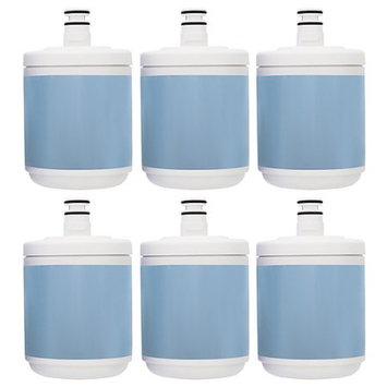 Aqua Fresh New Replacement Filter for Kenmore ADQ72910902 Filter Model ( 6 Pack )