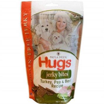 Hugs Pet Products Paula Dean Grain Free Jerky Bites Turkey and Pea 12 oz.